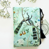 Waterproof pouch, chinoiserie, eastern influence, western art.