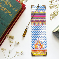 Luxury waterproof Bookmark, indian, boho style, literary gift, book lover