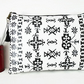 Large waterproof pouch, Clutch Purse Bag Cosmetics Travel