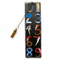 Luxury waterproof Bookmark, Erte, Numerals, literary gift, book lover