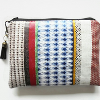 Ethnic Geo, waterproof pouch, waterproof wallet.