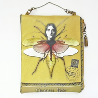 Waterproof pouch, Queen Bee, Hanging travel bag,Cosmetic Bag
