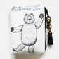 Edward Gorey, Mercurial Bear, Waterproof credit card wallet.