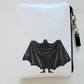 Waterproof pouch, Edward Gorey, Dracula waterproof wallet, zipper.