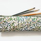 Waterproof Pencil case,Green Grass, Jungle, long bag, brush bag, crochet bag
