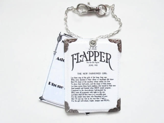 Flapper poem, 1920s, flapper girl, Luggage Tags, travel tags, bag tags, art deco