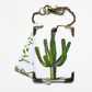 Cactus luggage tags, baggage tags, travel tags, bag tags, eco gift, eco friendly