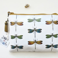 Gifts for her,zoology,moths,insects,beetles,entomology print,Waterproof wallet,