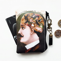 Waterproof pouch,phrenology,credit card wallet, business card holder,coins.