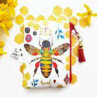 Honey bee Waterproof card holder, business card holder,credit card