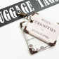 Luggage tags, tags,bag tags,travel tags,luggage labels,labels,curiosities.