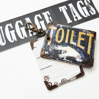 Luggage tags,novelty tags,bag tags,travel tags,luggage labels,labels,vintage