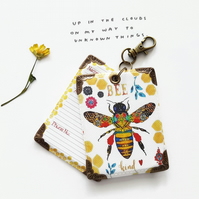 Honey Bee Luggage tags,novelty tags,bag tags,travel tags,luggage,ID tag