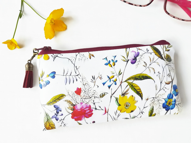 Antique botanical Phone sleeve,phone pouch,phone wallet,phone storage,botanical