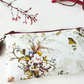 Antique floral Phone sleeve,phone pouch,phone wallet,phone storage,botanical