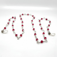 Red Bead Glasses Chain
