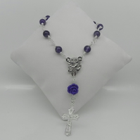 Amethyst Single Decade Rosary