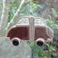 SALE - Stained Glass Car Suncatcher - SALE