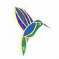 Stained Glass Hummingbird - Handmade Window Decoration
