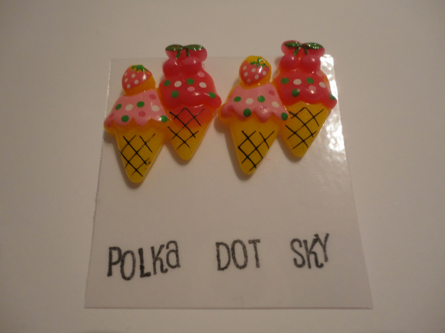 Ice Cream Earrings 5