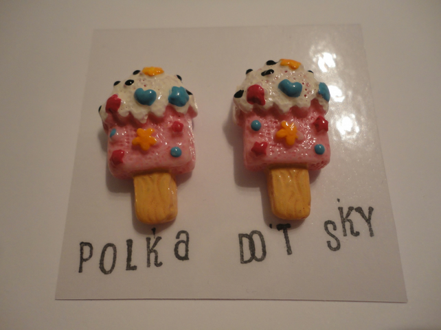 Ice Cream Earrings 3