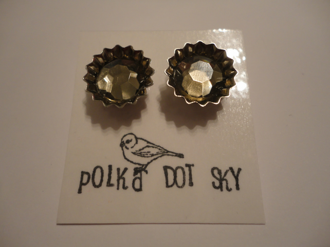 Bottle Top Style Earrings 10