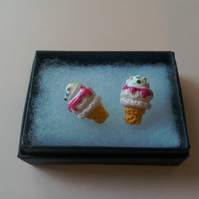 Ice cream Earrings 2