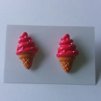 Icecream Earrings 2