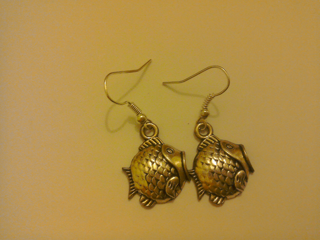 Fish Hook Earrings