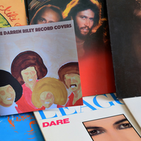 Some Darren Riley Record Covers - the book!