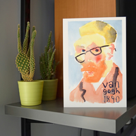 Vincent Van Gogh A5 Card