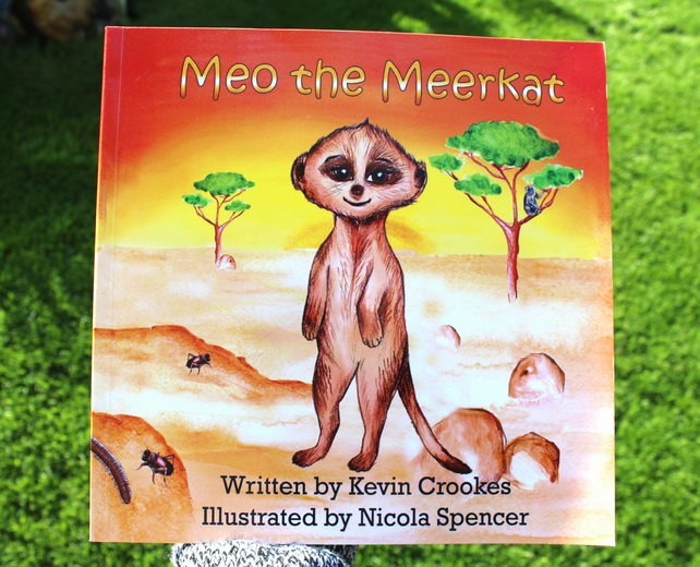 'Meo the Meerkat' - Children's Book