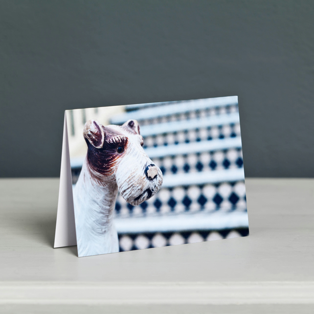 Dog Toy Greeting Card