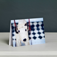 Vintage Terrier Toy Greeting Card