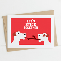 Valentine's Day Card for Dog Lovers