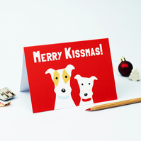Merry Kissmas Card