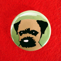 Border Terrier Badge