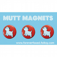 West Highland Terrier Magnets