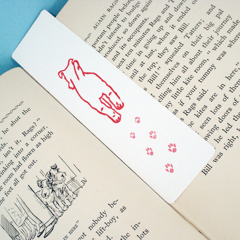 Terrier Bookmark