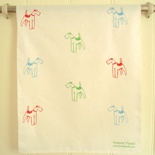Terrier Tea Towel