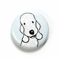 Bedlington Terrier Badge