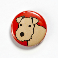 Lakeland Terrier Badge