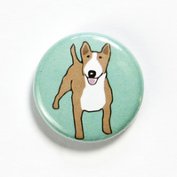 Bull Terrier Badge