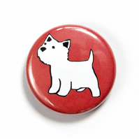 West Highland Terrier Badge