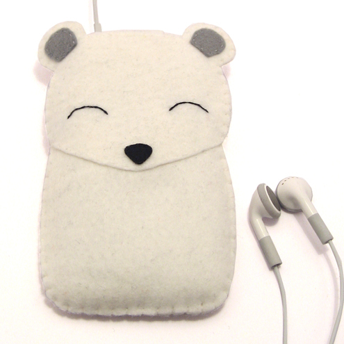 Polar Bear iPod  Phone  Gadget Case