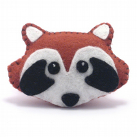 Red Panda Brooch Badge Pin
