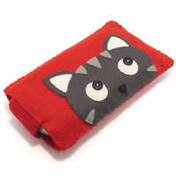 Nintendo DS / PSP / Camera Case - Cat