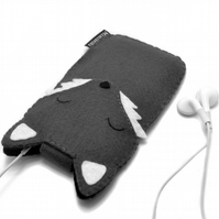 iPhone 6 Case - Wolf - Other sizes available! 100% Wool Felt Animal Cases