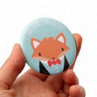 Pocket Mirror - Fox