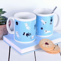 Cat Mug Dog Mug Gifts For Animal Lovers - Boxed Mug